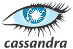 Logo of Cassandra - colored