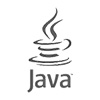 Logo of Java - greyscale