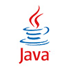 Logo of Java - colored