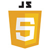 Logo of Javascript - colored