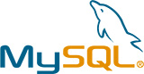 Logo of MYSQL - colored