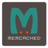 Logo of Memcached - colored