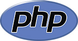 Logo of PHP - colored